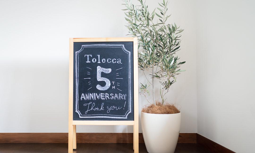 Tolocca5周年