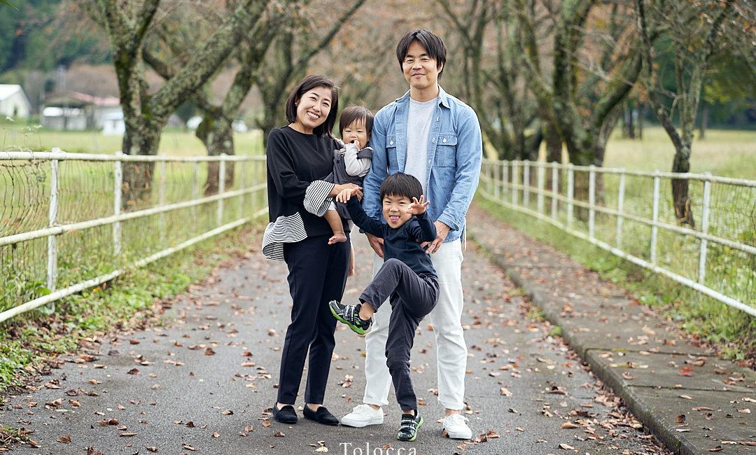 Toloccaの家族撮影 ファミリーフォト